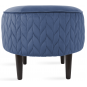 Nuanta tapiterie: Pouf Spica Night Blue